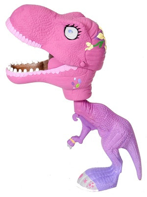 T-rex Pink Chompers with Light & Sound