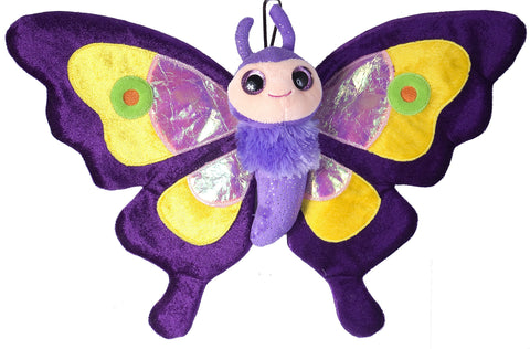Sweet and Sassy Purple Butterfly
