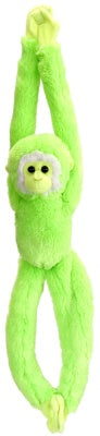 Neon Green Hanging Monkey (20-inch Vibes Collection)