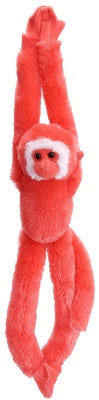 Neon Pink Hanging Monkey (20-inch Vibes Collection)