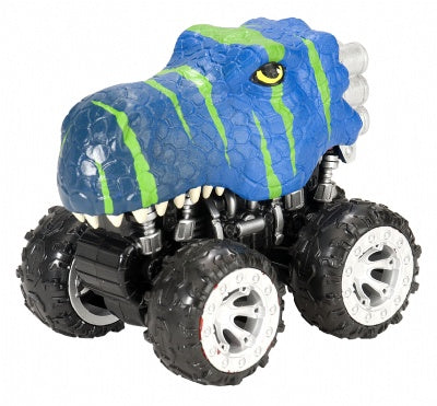 T-Rex Dinosaur Motor Headz 4x4 Friction Truck