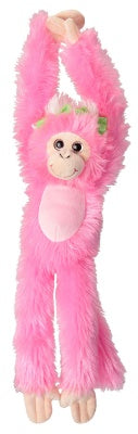 Sweet & Sassy Wildly Colorful Pink Monkey
