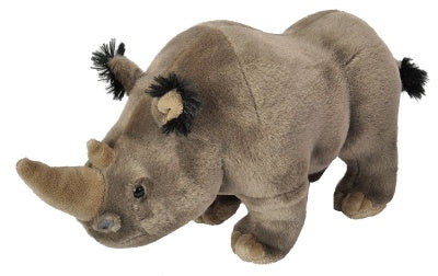 Cuddlekins White Rhino (12-inch Stuffed Animal)