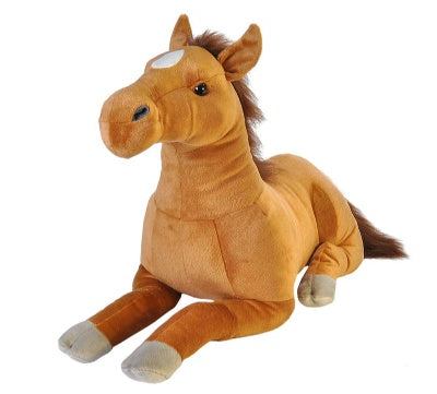 Cuddlekins Jumbo Brown Horse (30-inch Stuffed Animal)