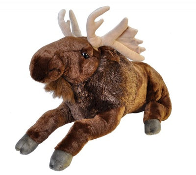 Cuddlekins Jumbo Moose (30-inch Stuffed Animal)