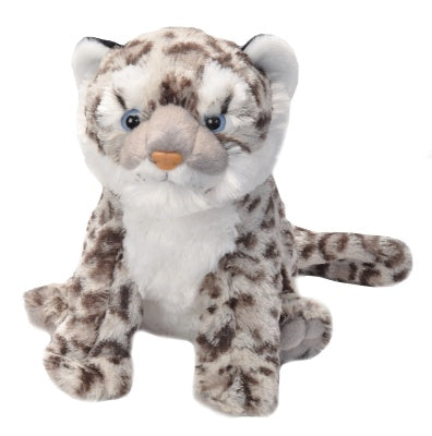 Cuddlekins Snow Leopard Cub (12-inch Stuffed Animal)
