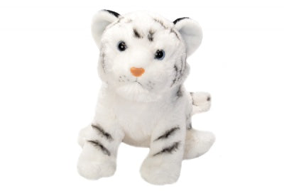 Cuddlekins Tiger White Cub (12-inch Stuffed Animal)