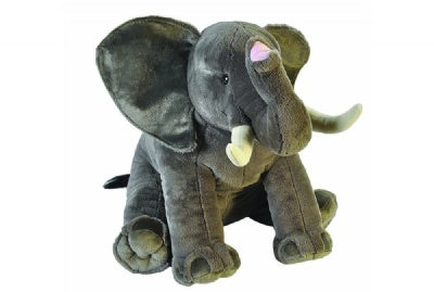 Little Biggies African Elephant (30-inch Stuffed Animal)