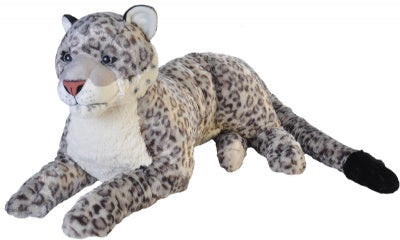 Cuddlekins Jumbo Snow Leopard (30-inch Stuffed Animal)