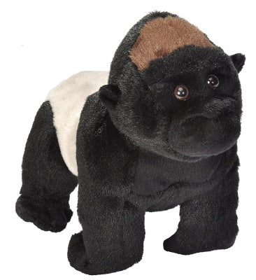 Animal Plush Silverback Gorilla Sm