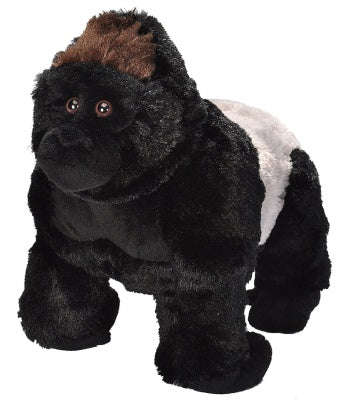 Animal Plush Silverback Gorilla Med