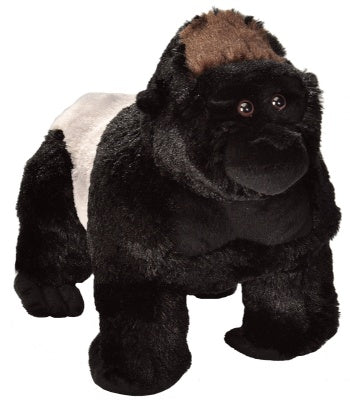 Animal Plush Silverback Gorilla Lg