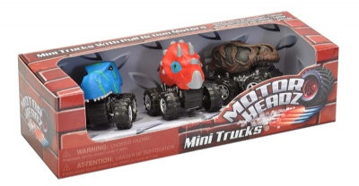 Motor Headz: Mini Dino 3-Pack