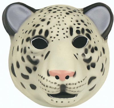 Super Comfort Foam Snow Leopard Mask