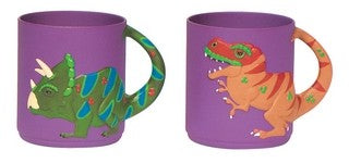 2-Piece Dinosaur Cup Set