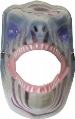Super Comfort Foam Green/Purple T-Rex Mask