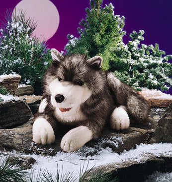 Timber Wolf Puppet
