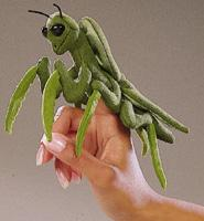 Praying Mantis Finger Puppet