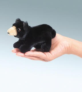 Mini Bear Finger Puppet