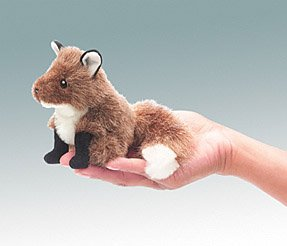Mini Fox Finger Puppet