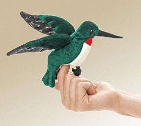 Mini Hummingbird Finger Puppet