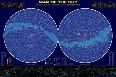 Map of the Sky Poster (#4)