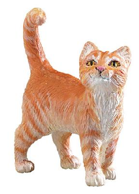 Safari Farm Orange Tabby Cat