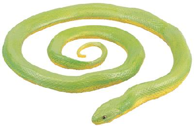 Rough Green Snake Replica (Incredible Creatures)