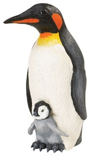 Emperor Penguin with Baby (Incredible Creatures)
