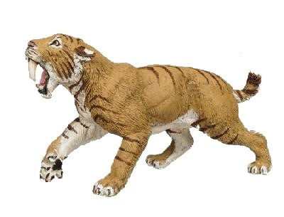 Wild Safari Sabre Tooth Tiger (Smilodon)