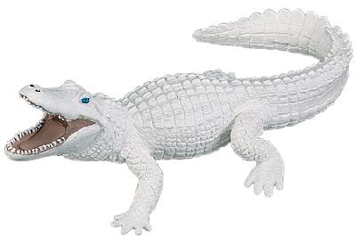 Wild Safari White Alligator