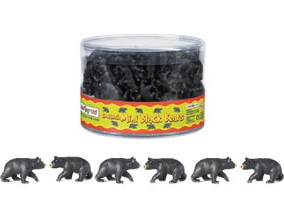 Mini Black Bears (1 Black Bear)