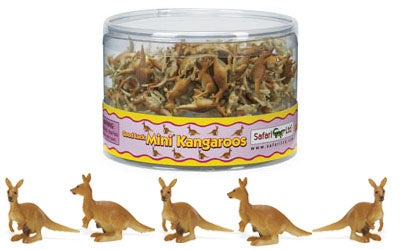 Mini Kangaroo with Baby (1 piece)