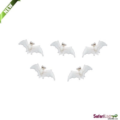 Mini Glow-in-the-Dark Bats (1 Bat)