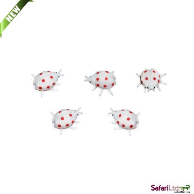Mini Glow-in-the-Dark Ladybugs  (1 Ladybug)