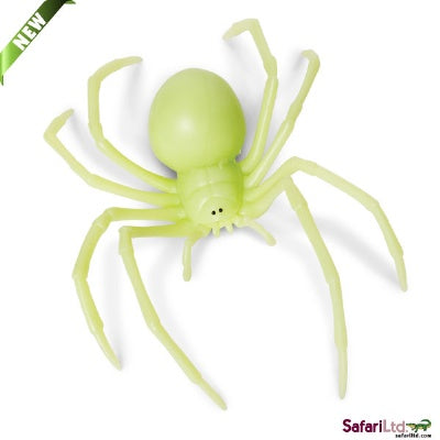 Glow-in-the-Dark Black Widow  Spider