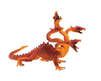 Four Headed Orange Dragon