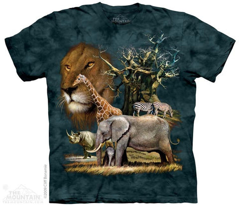 Africa Collage T-Shirt