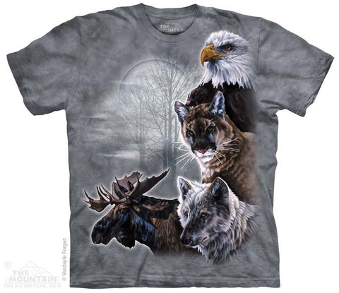 North American Collage T-Shirt
