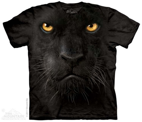 Black Panther Face T-Shirt