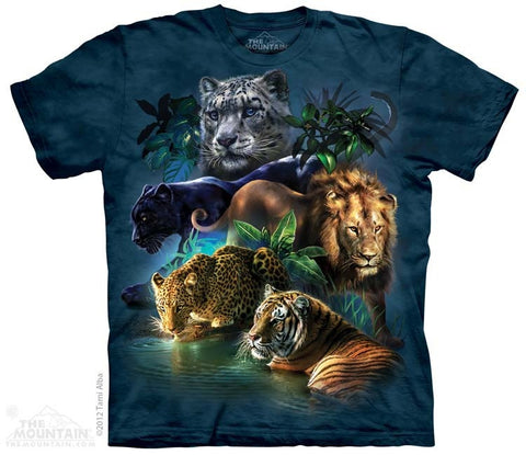 Big Cats Jungle T-Shirt