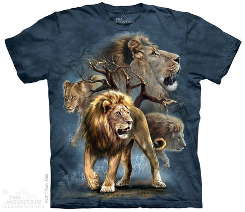 Lion Collage T-Shirt