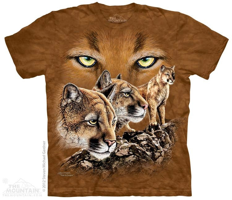 Find 10 Cougars T-Shirt