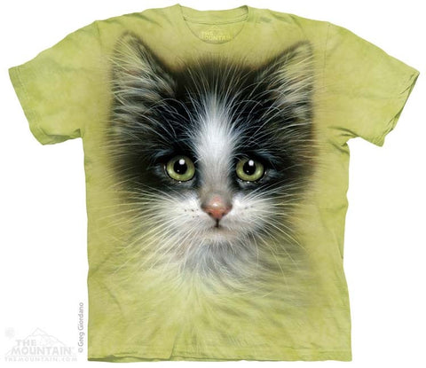 Green Eyed Kitten T-Shirt