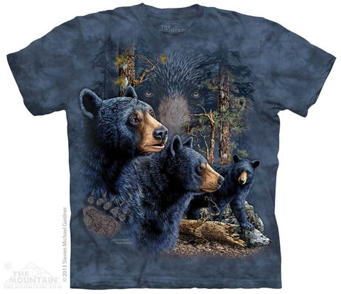 Find 13 Black Bear T-Shirt