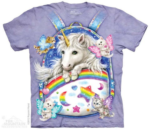 Backpack Unicorn T-Shirt