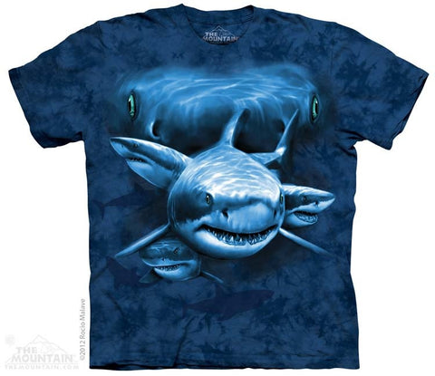 Shark Moon Eyes T-Shirt