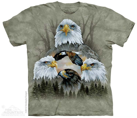 Five Eagle Collage T-Shirt