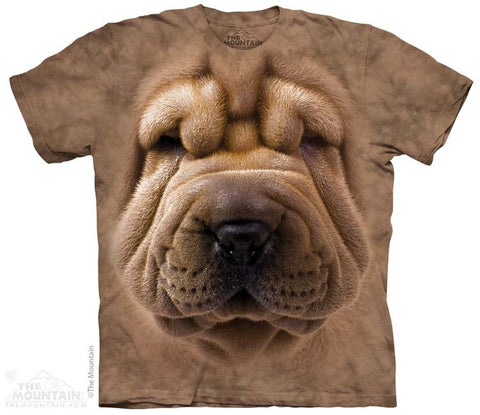 Big Face Shar Pei T-Shirt