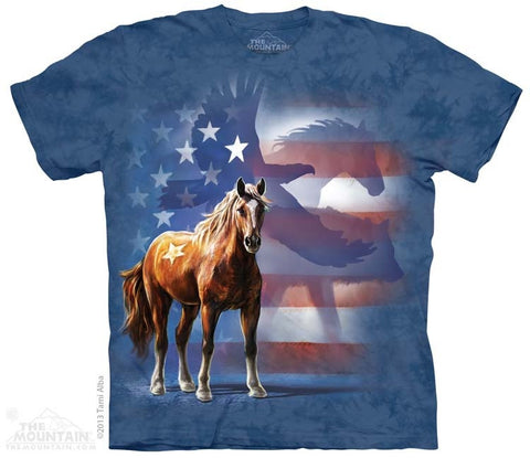 Wild Star Flag T-Shirt